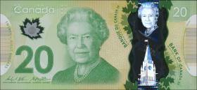Canada P.108b 20 Dollars 2012 (2015) Polymer (1)