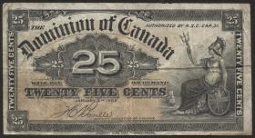 Canada P.009b 25 Cent 1900 (3)