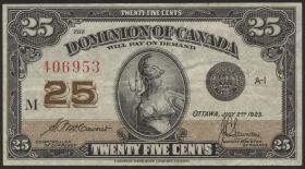 Canada P.011b 25 Cent 1923 (3)