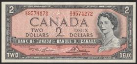 Canada P.076d 2 Dollars 1954 (1973-75) (1)