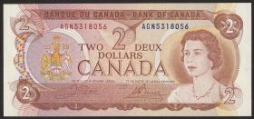 Canada P.086b 2 Dollars 1974 (1)