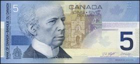 Canada P.101b 5 Dollars 2002/2003 (1)