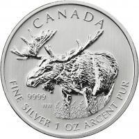 Canada Silber-Unze 2012 Elch