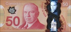 Canada P.109b 50 Dollars 2012 (2015) Polymer (1)