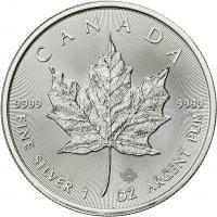 Canada Silber-Unze 2019 Maple Leaf