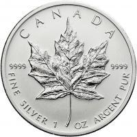 Canada Silber-Unze 2012 Maple Leaf