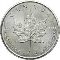 Canada Silber-Unze 2018 Maple Leaf
