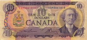 Canada P.088c 10 Dollars 1971 (3)