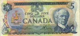 Canada P.092a 5 Dollars 1979 (3)