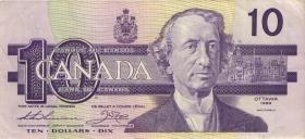 Canada P.096a 10 Dollar 1989 (3)