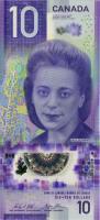 Canada P.neu 10 Dollars 2018 Polymer Gedenkbanknote (1)