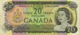 Canada P.089a 20 Dollars 1969 (3)