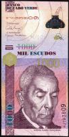Kap Verde / Cape Verde P.70 1000 Escudos 2007