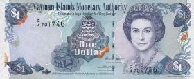 Cayman-Inseln P.33a 1 Dollar 2006 Serie C/4 (1)
