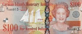 Cayman-Inseln P.43 100 Dollars 2010 (1)
