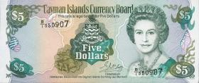 Cayman-Inseln P.17 5 Dollars 1996 (1)