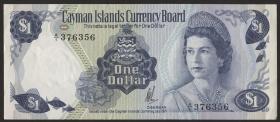 Cayman-Inseln P.05a 1 Dollar 1974 (1985) (1)