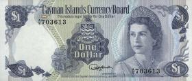 Cayman-Inseln P.05d 1 Dollar 1974 (1985) (1)