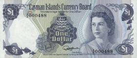 Cayman-Inseln P.05e 1 Dollar 1974 (1985) (1)