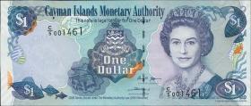 Cayman-Inseln P.33b 1 Dollar 2006 (1)