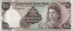 Cayman-Inseln P.04 25 Dollars (1972) (1)