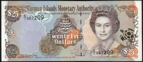Cayman-Inseln P.24 25 Dollars 1998 (1)
