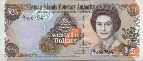 Cayman-Inseln P.31 25 Dollars 2003 (1)