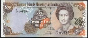 Cayman-Inseln P.36 25 Dollars 2006 (1)