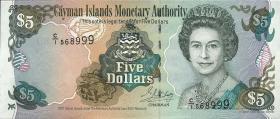 Cayman-Inseln P.27 5 Dollars 2001 (1)