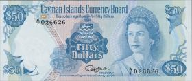 Cayman-Inseln P.10 50 Dollars 1974 (1981) (1)