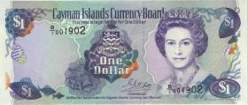 Cayman-Inseln P.16a 1 Dollar 1996 Serie B/1 (1)