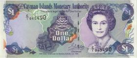 Cayman-Inseln P.21a 1 Dollar 1998 Serie C/1 (1)