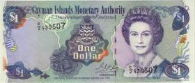 Cayman-Inseln P.21b 1 Dollar 1998 Serie C/2 (1)