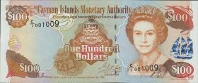 Cayman-Inseln P.25 100 Dollars 1998 (1)