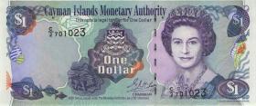 Cayman-Inseln P.26a 1 Dollar 2001 Serie C/2 (1)