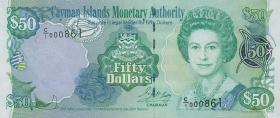 Cayman-Inseln P.29 50 Dollars 2001 (1)