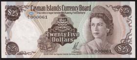Cayman-Inseln P.04 25 Dollars 1972 (1)
