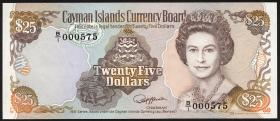 Cayman-Inseln P.14 25 Dollars 1991 (1)