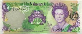 Cayman-Inseln P.32b 50 Dollars 2003 (2007) C/2 000027 (1)