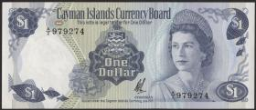 Cayman-Inseln P.01b 1 Dollar 1971 (1972) (1)