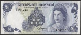 Cayman-Inseln P.05c 1 Dollar 1974 (1985) (1)