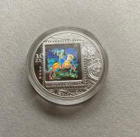 Polen / Poland 10 Zloty 2008 Postwesen mit Hologramm