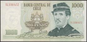Chile P.154f 1000 Pesos 1999  (1)