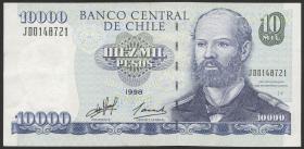 Chile P.157b 10000 Pesos 1998  (2)