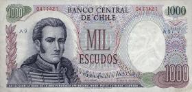 Chile P.146 1000 Escudos (1967-76) (1)