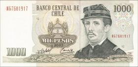 Chile P.154f 1000 Pesos 2005 (1)