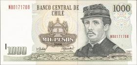 Chile P.154f 1000 Pesos 2006 (1)
