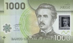Chile P.161a 1000 Pesos 2010 Polymer (1)