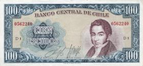 Chile P.141 100 Escudos (1962-75) (1)