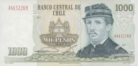 Chile P.154f 1000 Pesos 1997  (1)